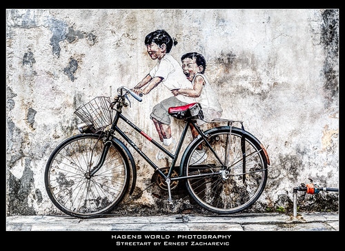 Streetart by Ernest Zacharevic | by Hagens_world