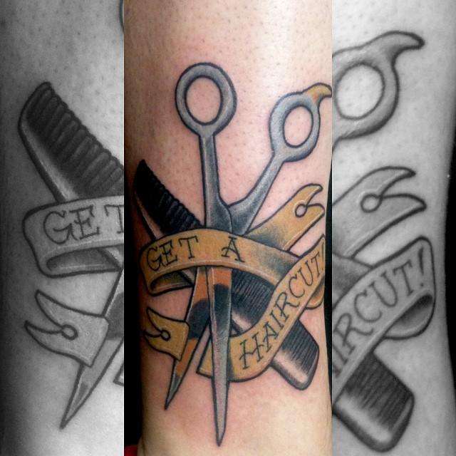 Mynameisferrill Got This Tattoo For His Dad Matt K Tattoo Flickr