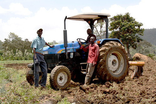 Ploughing ahead in business | by DFID - UK Department for International Development