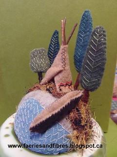 Teepee at M'Chigeeng pincushion close-up