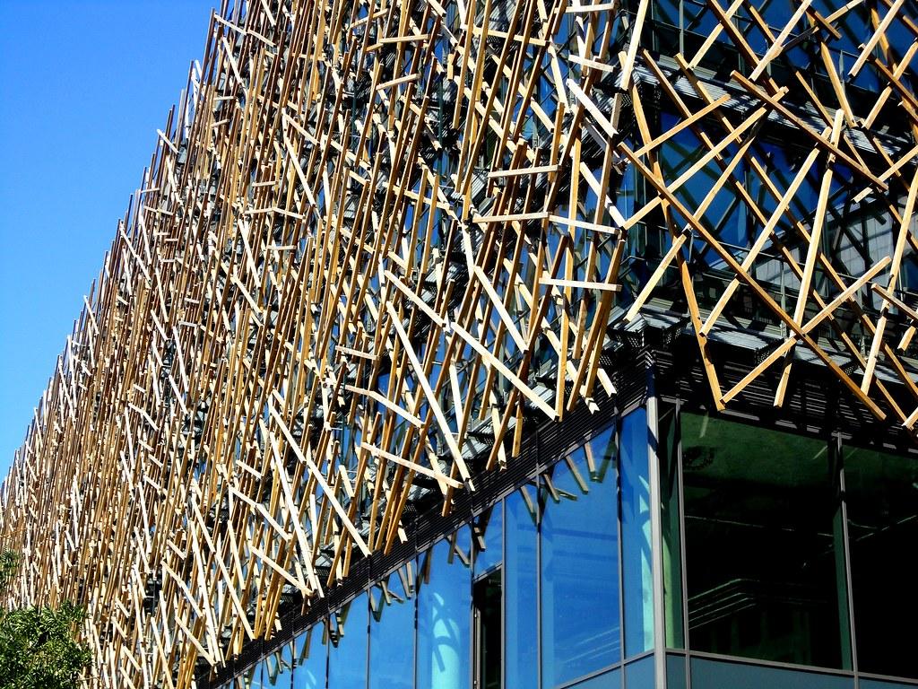 Rudy Ricciotti Le Nid Immeuble T8 Rive Gauche Paris Flickr