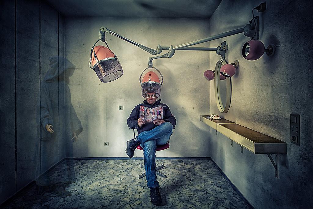 Neulich Beim Friseur Peter Wagner Flickr