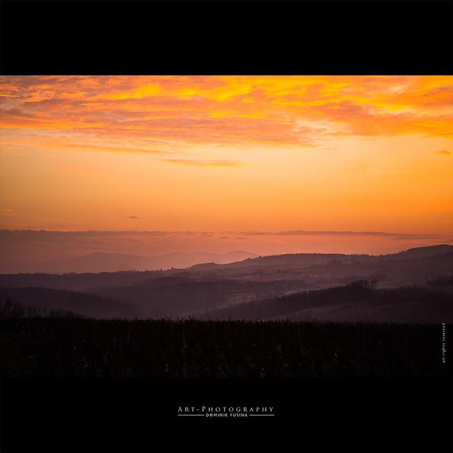 Beaujolais Sunset | FUJI x-PRO1