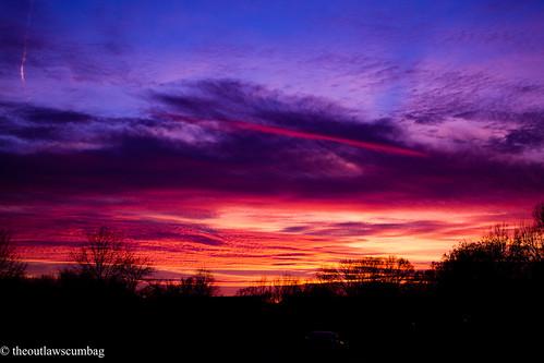 blue light sunset red sky orange night clouds dark evening nikon memphis bats nikkor35mm18 d3100