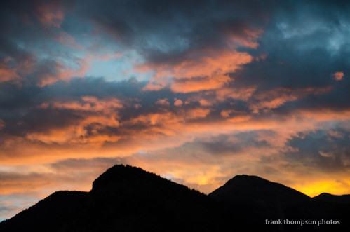 sunset sky mountains clouds colorado unitedstates dusk cielo rockymountains montañas collegiatepeaks nathrop sawatchrange mountprincetonhotspringsresort