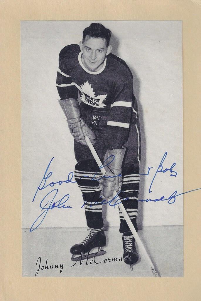 1944-63 NHL Beehive Hockey Photo / Group II - JOHNNY