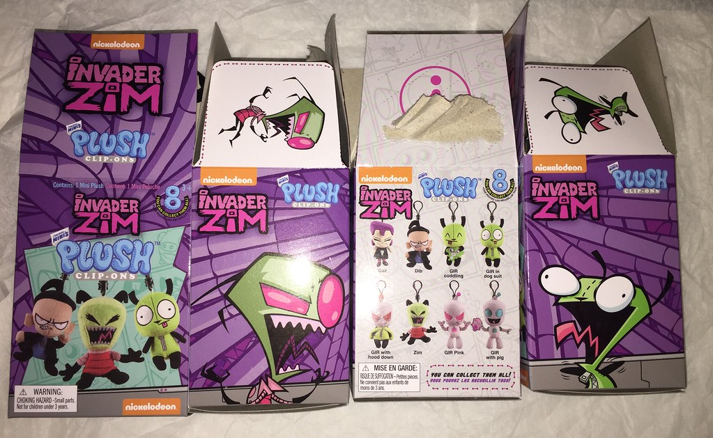 Invader Zim Blind Boxes | I saw these at Hot Topic for $8 90