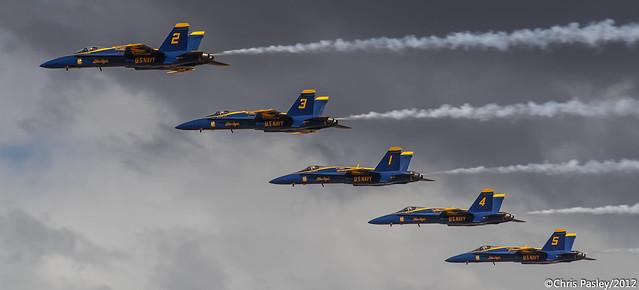 F/A-18 Hornet U.S. Navy Demo Team Blue Angels