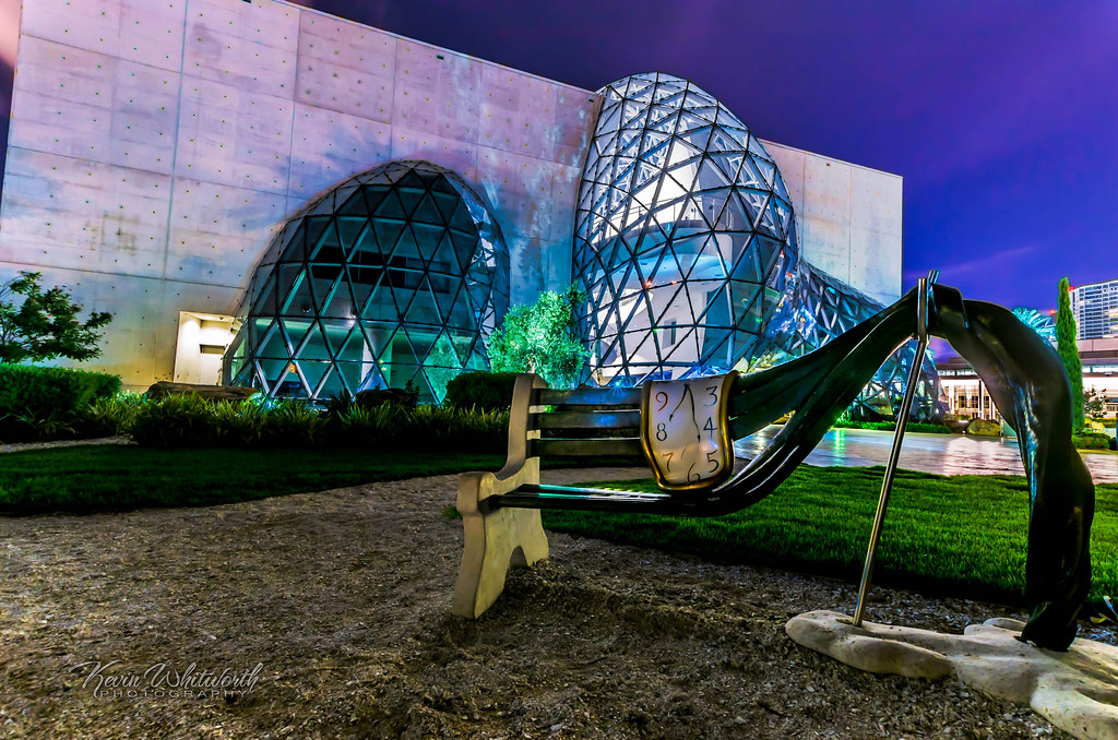 Dali Museum, Melting Clock and Bench