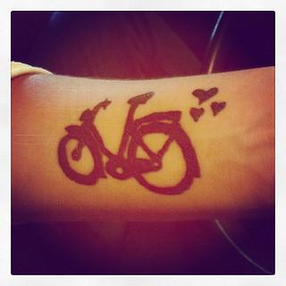 Bike Tatto Tattoo Tatuaje Bici Bike Bicycle Bicicl Flickr
