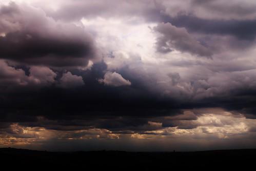 light sunset england sky sunlight clouds landscape darkness northwest ogden rochdale newhey