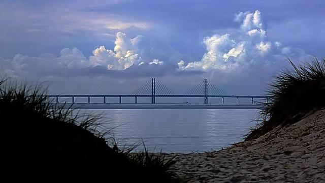 the beautiful Oresund Bridge