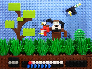 Duck Hunt (NES) -playing around- | by skinny coder