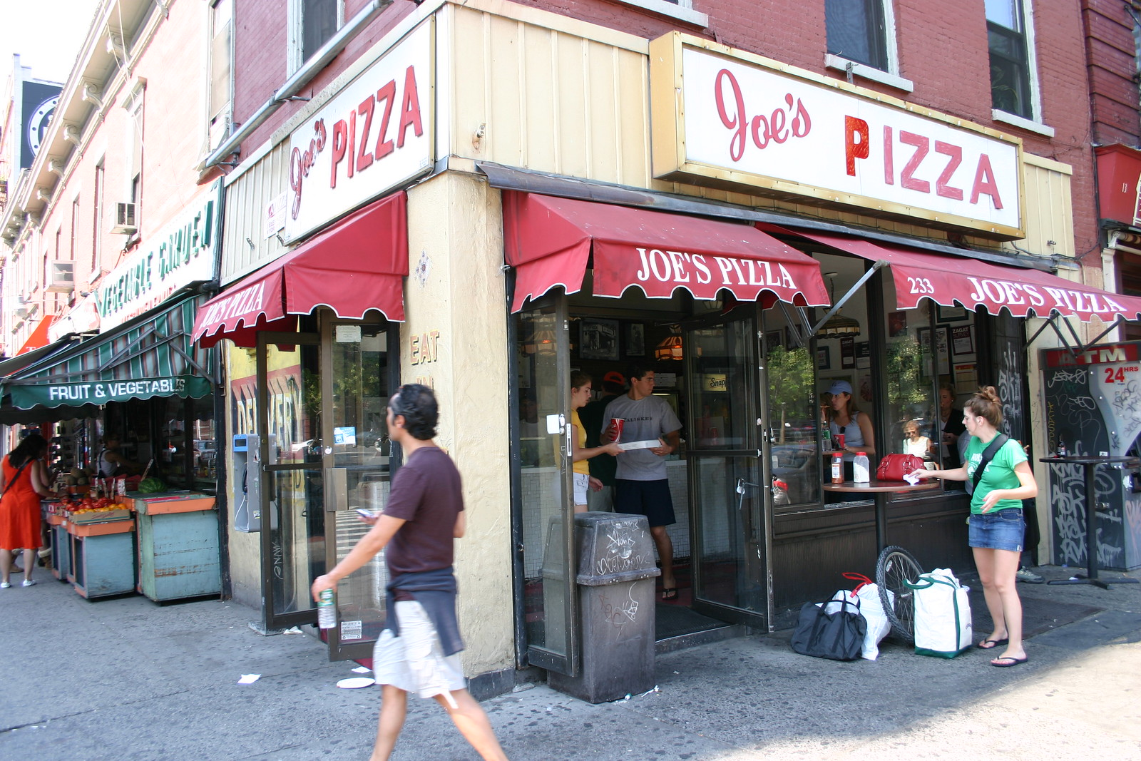 The Joe's Pizza from Spider-Man 2