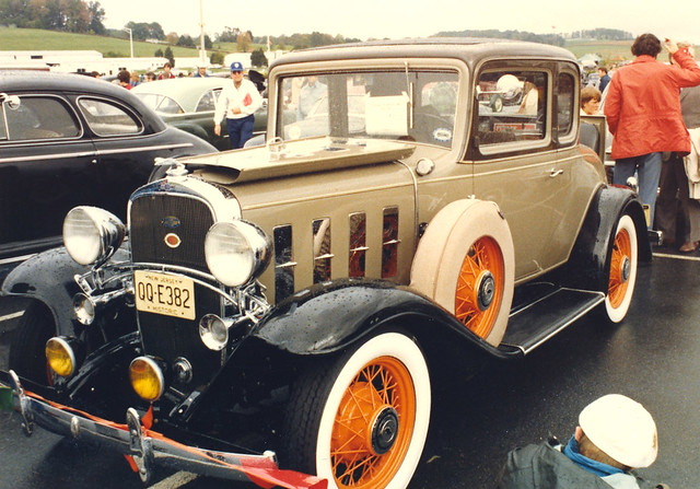 1932 Chevy Coupe | All decked out with Trumpet horns, Fog li