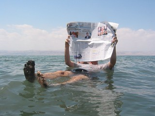 Dead Sea newspaper | by inju