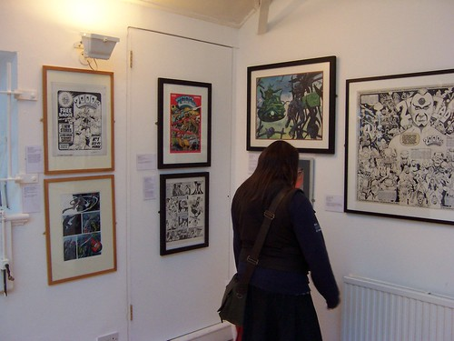 2000AD Comic Art at the Cartoon Museum, Little Russell Street | by Loz Flowers