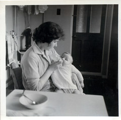 Mother with David, possibly 1960
