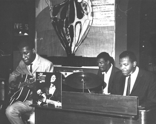 Grant Green, J.C. Moses, Larry Young