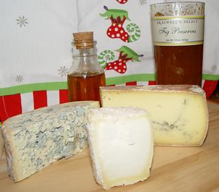 Cheese, fig preserves & honey | by fondofsnape