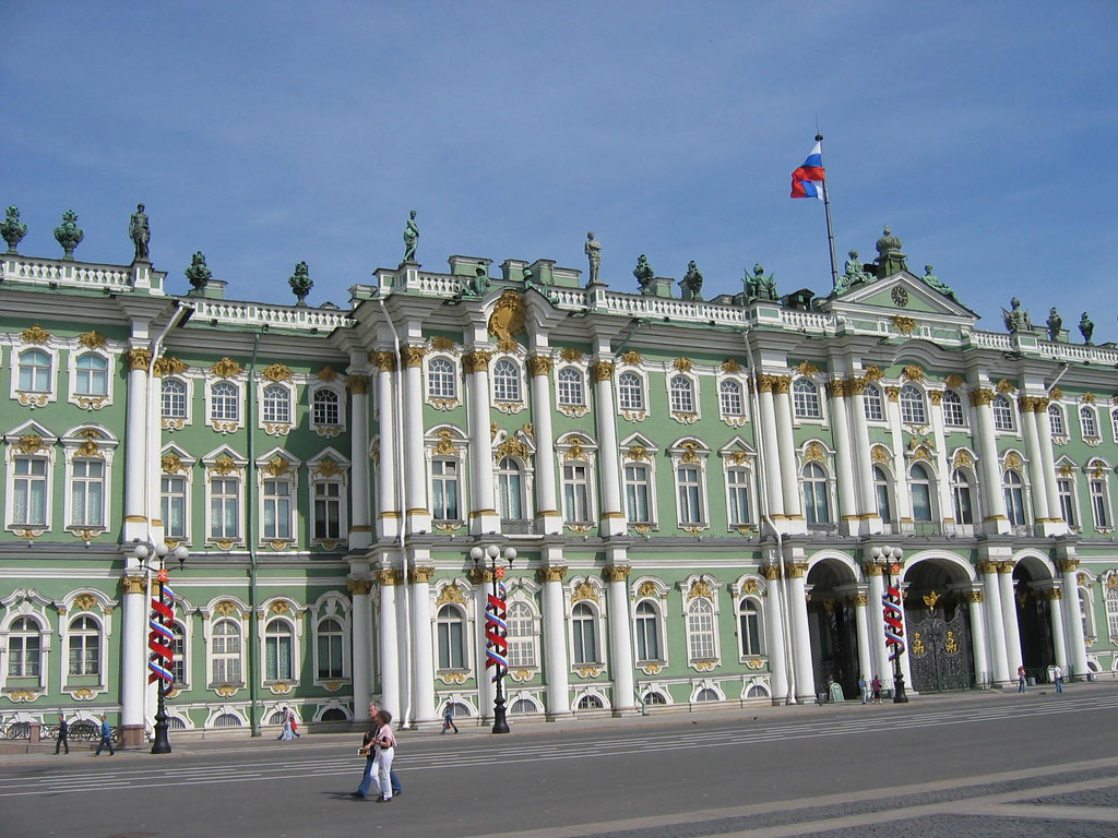 Moscow beautiful places Hermitage Museum