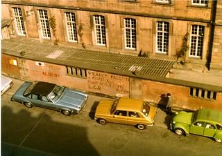 Strasbourg Franco graffiti