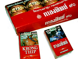 KRONG THIP Thai Cigarettes | by julipan