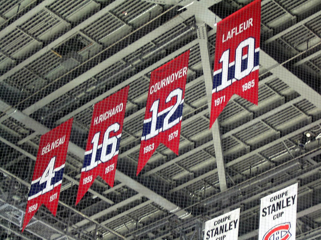 new style c4fa3 c05af Retired numbers | Montreal Canadiens' retired numbers. Bell ...