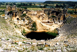 Theatre at Perge north-east of Antalya | by John Irving Dillon