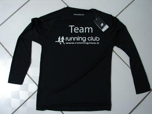 T-shirt du Running CLUB | by Lexel