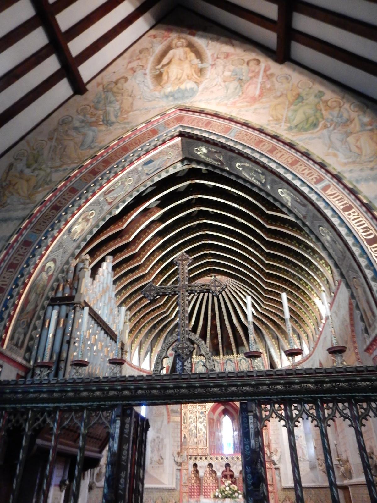 Hascombe church Milford to Godalming