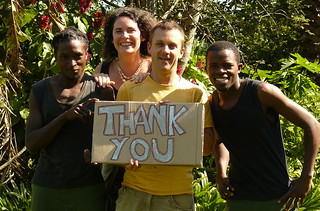 The Guba team thanking our supporters, 2010 | by guba.swaziland