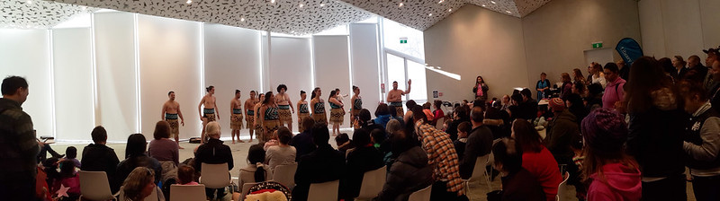 Te Pao a Tahu kapa haka group in performance