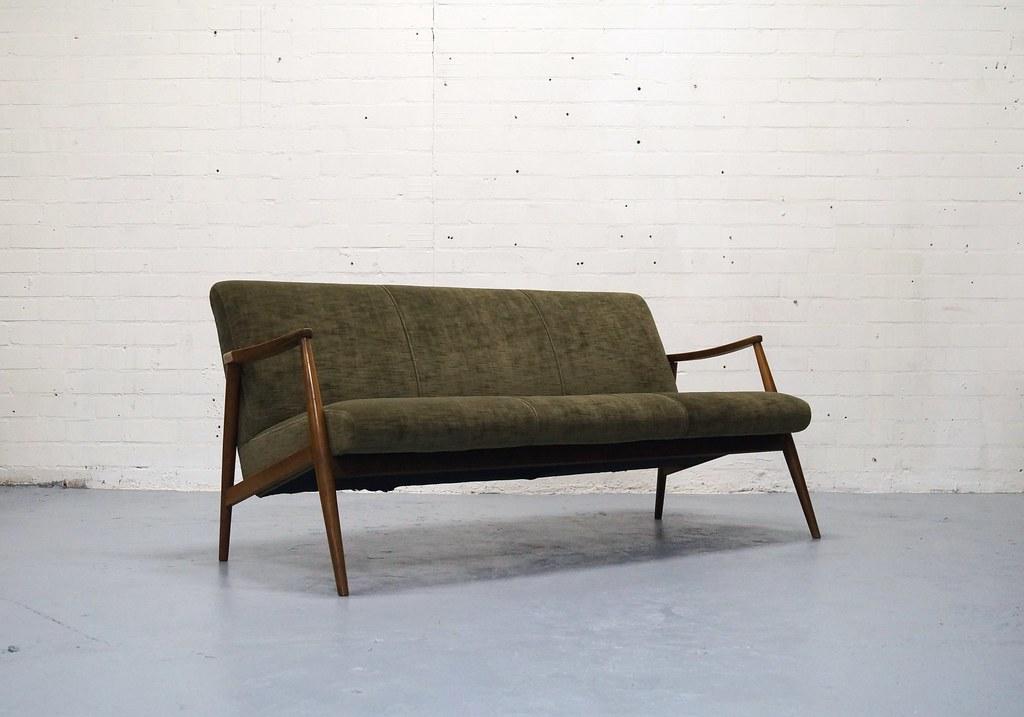 Deens Design Vintage Bank.Vintage Teak Bank Jaren 50 60 Retro Deens Design Pastoe Vonvintage