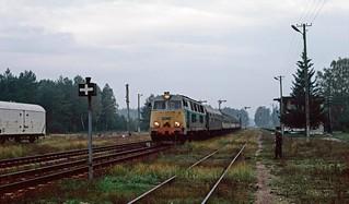 SU45-243 at Czerwony Bór. Poland. 12/09/95.