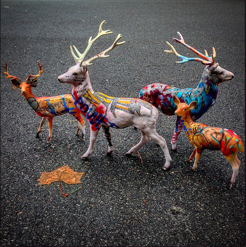 vandalized nature - christmas bucks | by iamhieronymus@gmail.com