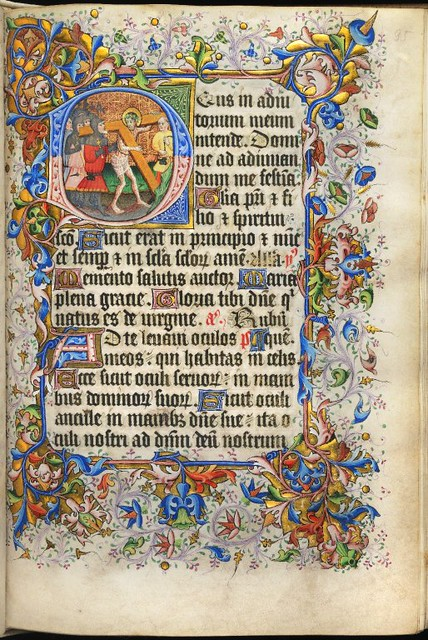 Book of Hours, circa 1430, f.35r