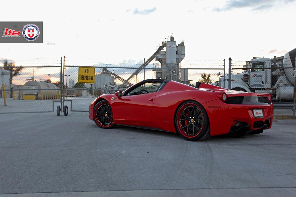 Ferrari 458 Spider On Hre S101 21x9 22x12 5 255 30 21 335 Flickr