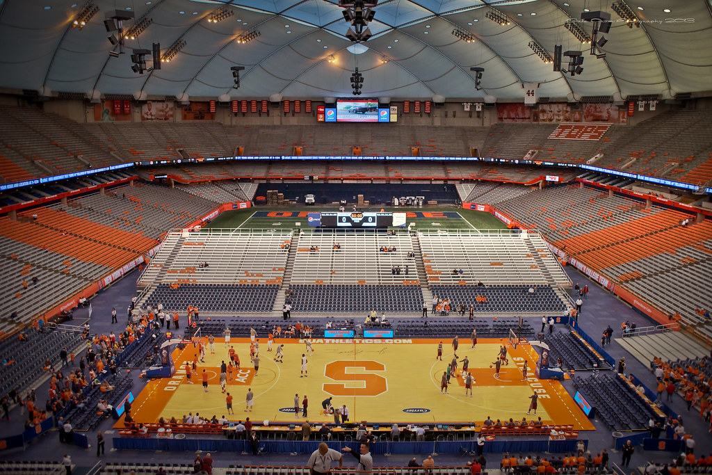 Carrier Dome Hdr Syracuse University Acc Basketball Final