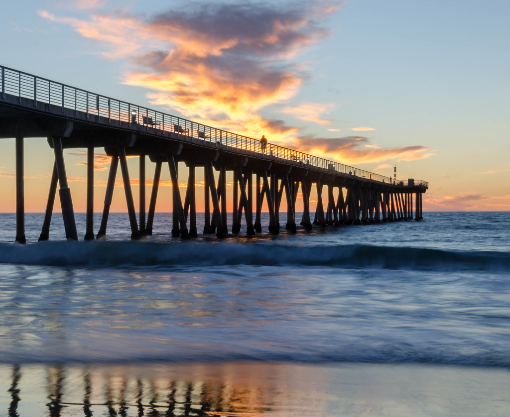 Image result for hermosa Beach pier