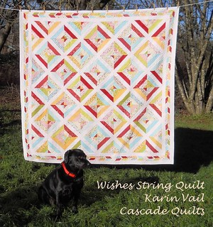 wishes string quilt