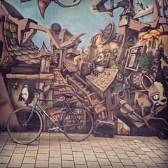pretty awesome mural in Gent