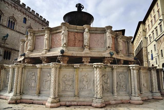 Perugia - La Fontana Maggiore in Piazza IV Novembre