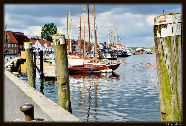 Flensburg / Hafen (Westseite)