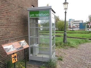 oude PTT telefoon cel | by TimF44