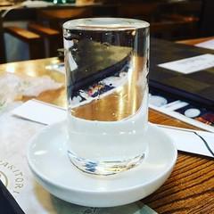That sake surface tension.