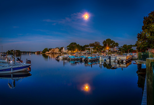 architectureandbuildings astronomy boat cloud crystalriver florida landscape longexposure lowlight moon reflection river usa water watercraft weather dock house pier unitedstates panorama clear night edrosackcom