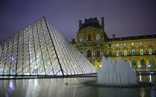 One night at the Louvre | by Jamie Frith