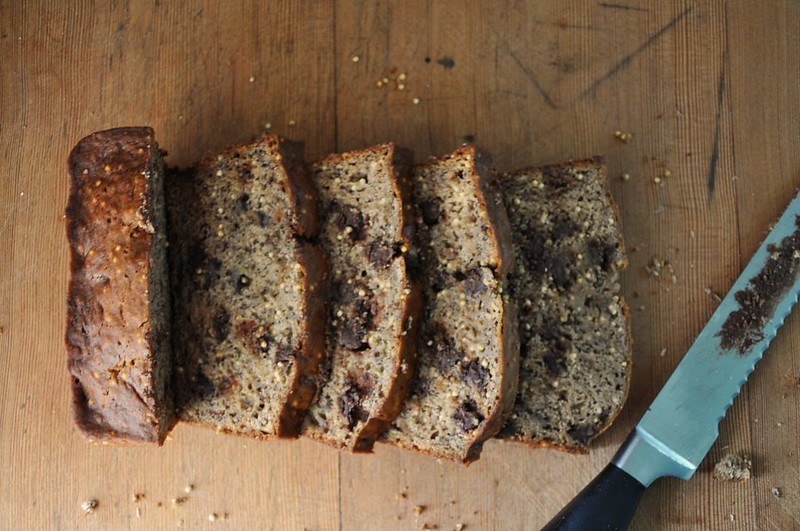Millet-Chocolate Chip Banana Bread