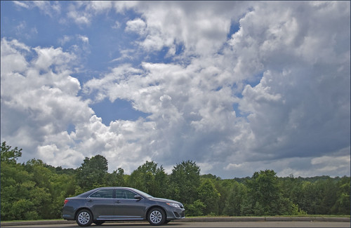 2013 Toyota Camry at Black Belt Overlook -- Natchez Trace Parkway (MS) May 2013 | by Ron Cogswell